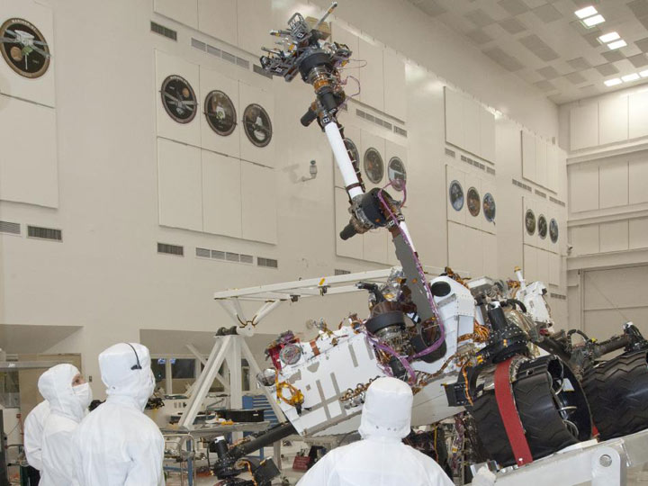 مریخ نورد جدید ناسا