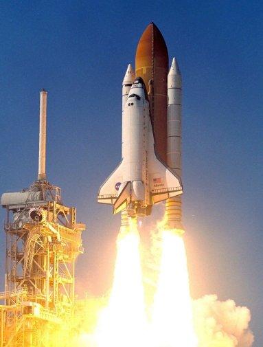 شاتل آتلانتیس برای آخرین بار به فضا پرتاب شد!